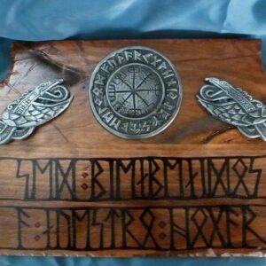 Placa vikinga Sed Bienvenidos