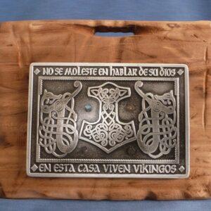 placa vikinga