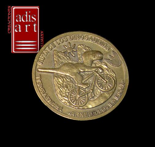 Medalla Dinosaurios Rioja