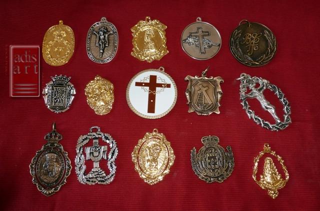 Medallas Cofradias Semana Santa