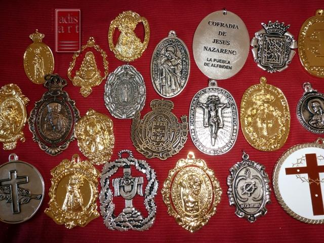 Medallas Cofradias De Semana Santa