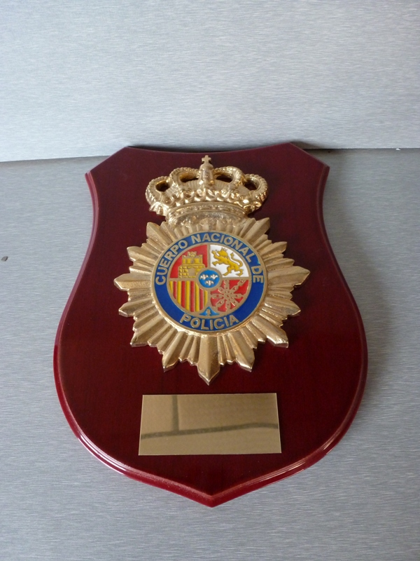 Metopa Policia Nacional