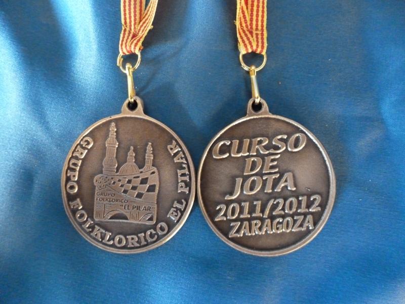 Medalla Curso De Jota
