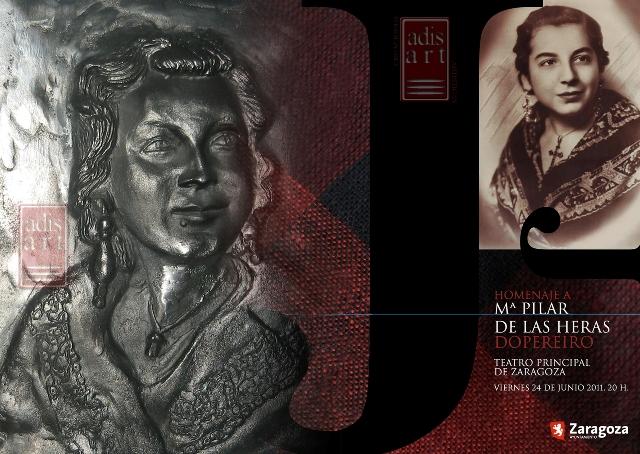 Busto Realizado Para El Homenaje A Mªpilar De Las Heras
