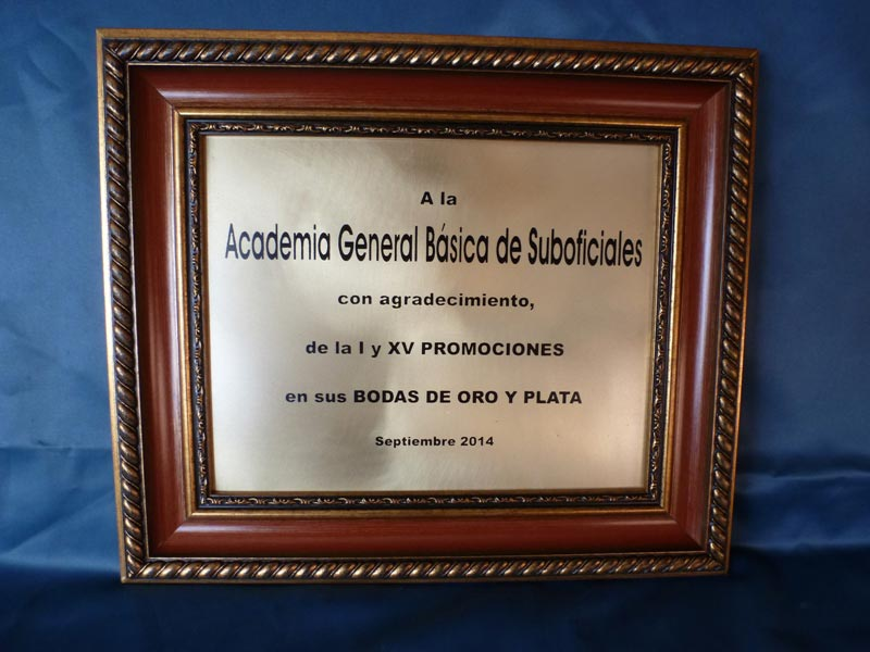 Cuadro Academia General Básica de Suboficiales