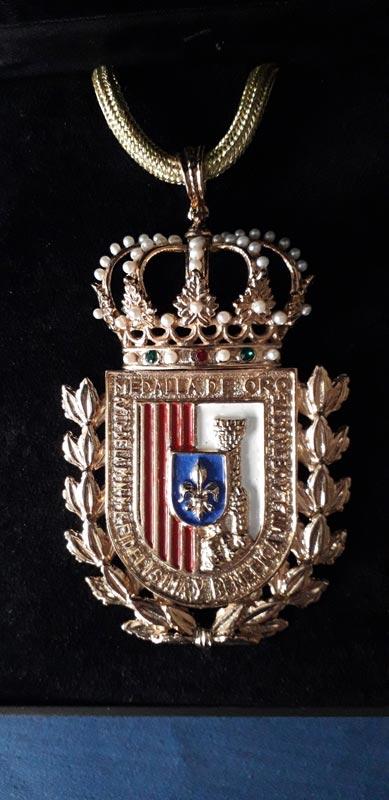 Medalla de Oro de Tauste