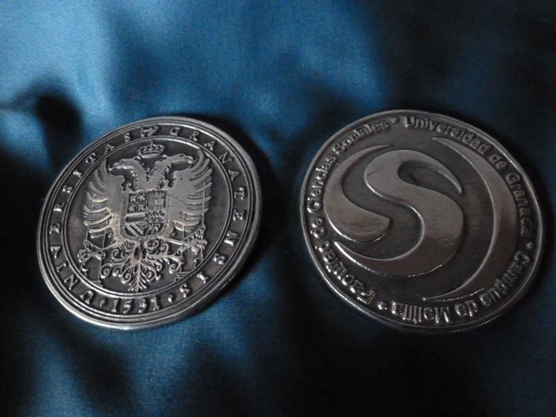 Medalla de plata Universidad de Granada