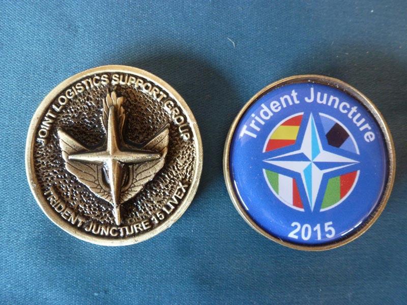 Medalla OTAN resina