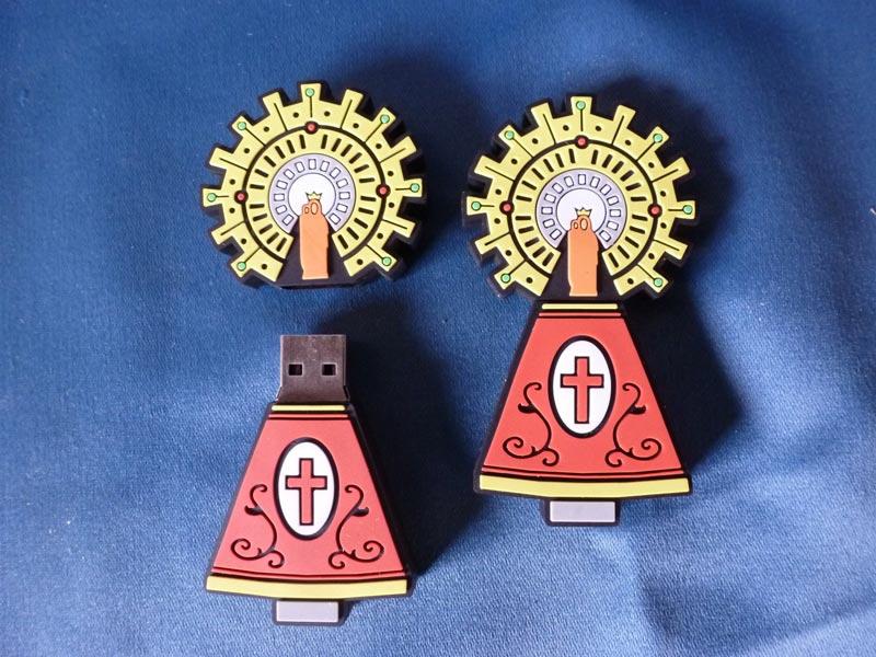 USB virgen y manto